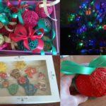 На новый год своими руками шары и игрушки на елку
