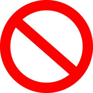 Запреты для домашнего времяпровождения