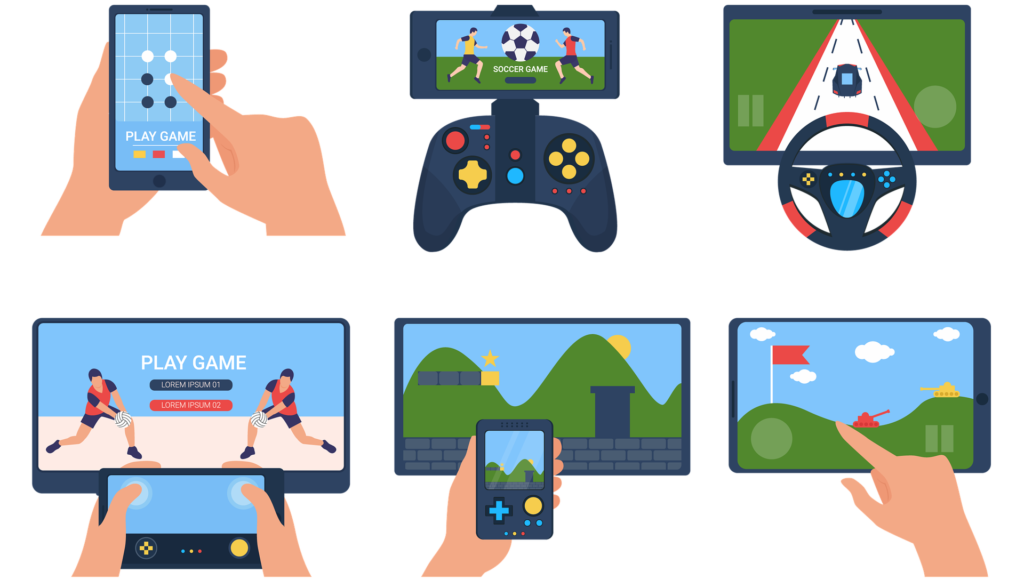 Развлечения с помощью мобильных приложений