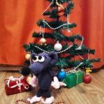 Вязаная игрушка Мистер Крыс