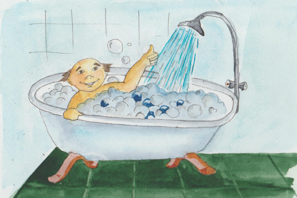 Охладитесь душем